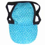 Aqua Dot Dog Hat