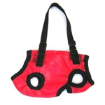 red small dog carrier